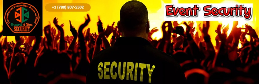 Event Security Guard Service Edmonton