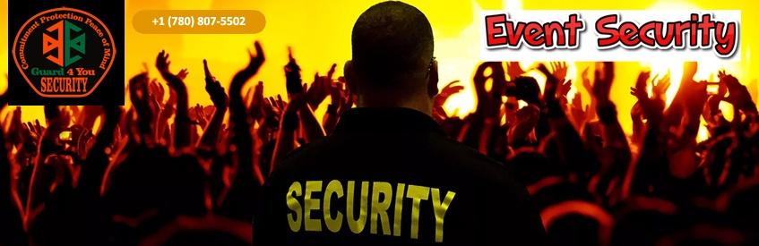 Event Security Guard Service Edmonton