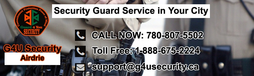 Airdrie Security Guard Companies