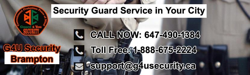 Brampton Security Guard Service