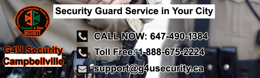 Campbellville Security Guard Services