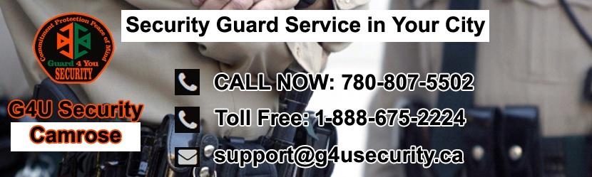 Camrose Security Guard Companies