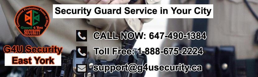East York Security Guard Companies