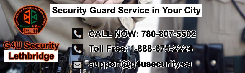 Lethbridge Security Guard Companies