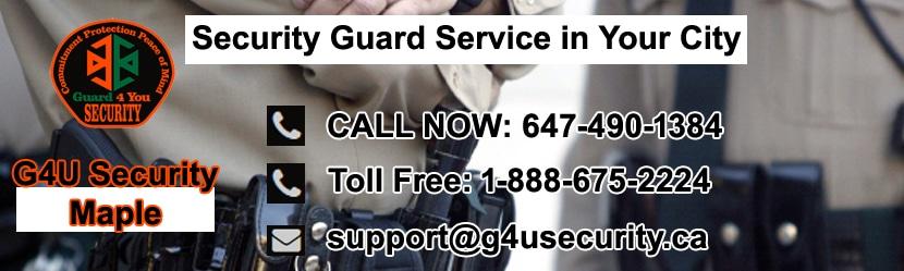 Maple Security Guard Service