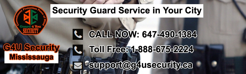 Mississauga Security Guard Service