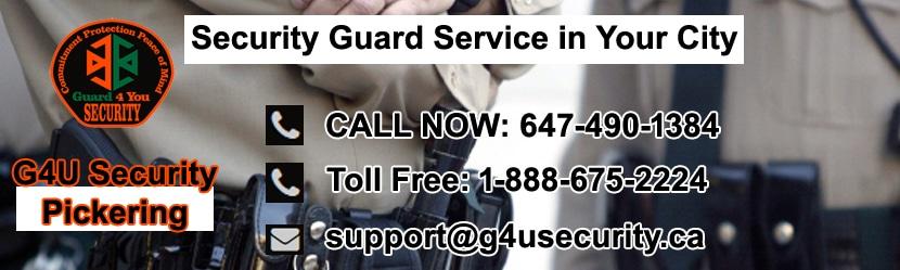 Pickering Security Guard Company