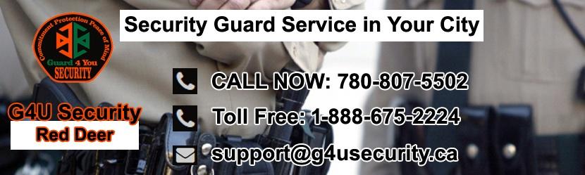 Red Deer Security Guard Companies