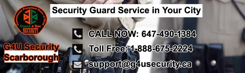 Scarborough Security Guard Services
