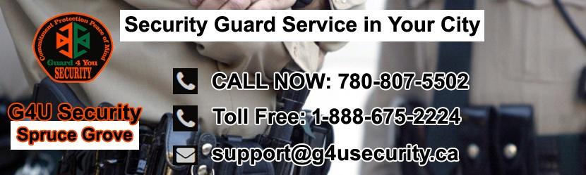 Spruce Grove Security Guard Companies