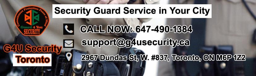 Toronto Security Guard Companies