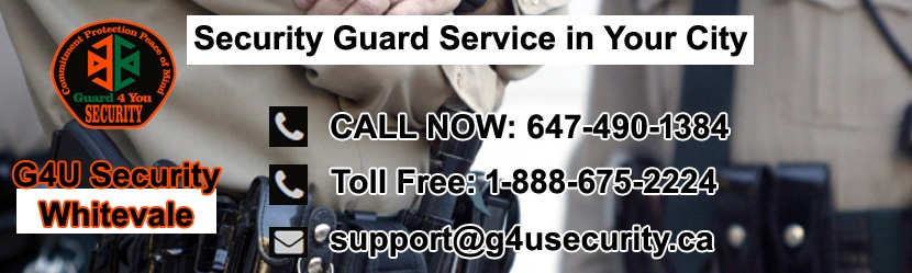 Whitevale Security Guard Companies