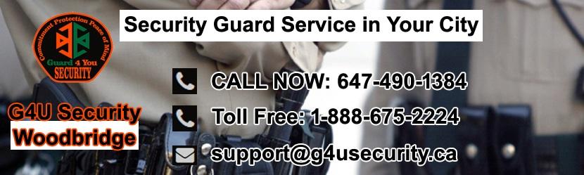 Woodbridge Security Guard Services