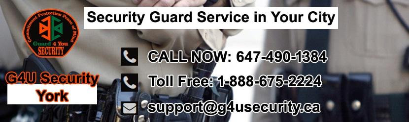York Security Guard Companies